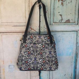 Relic medium size purse hand bag paisley floral